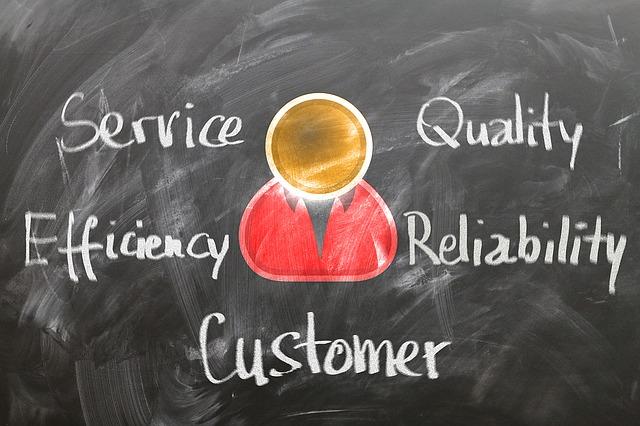 customer service diagram