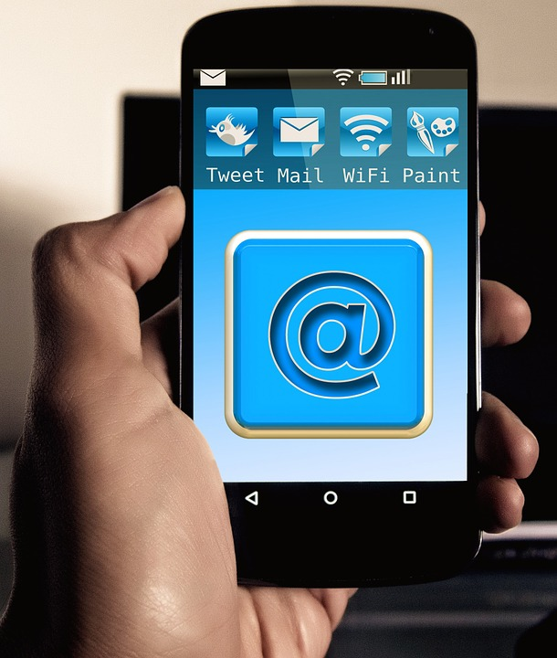 sending email through phone