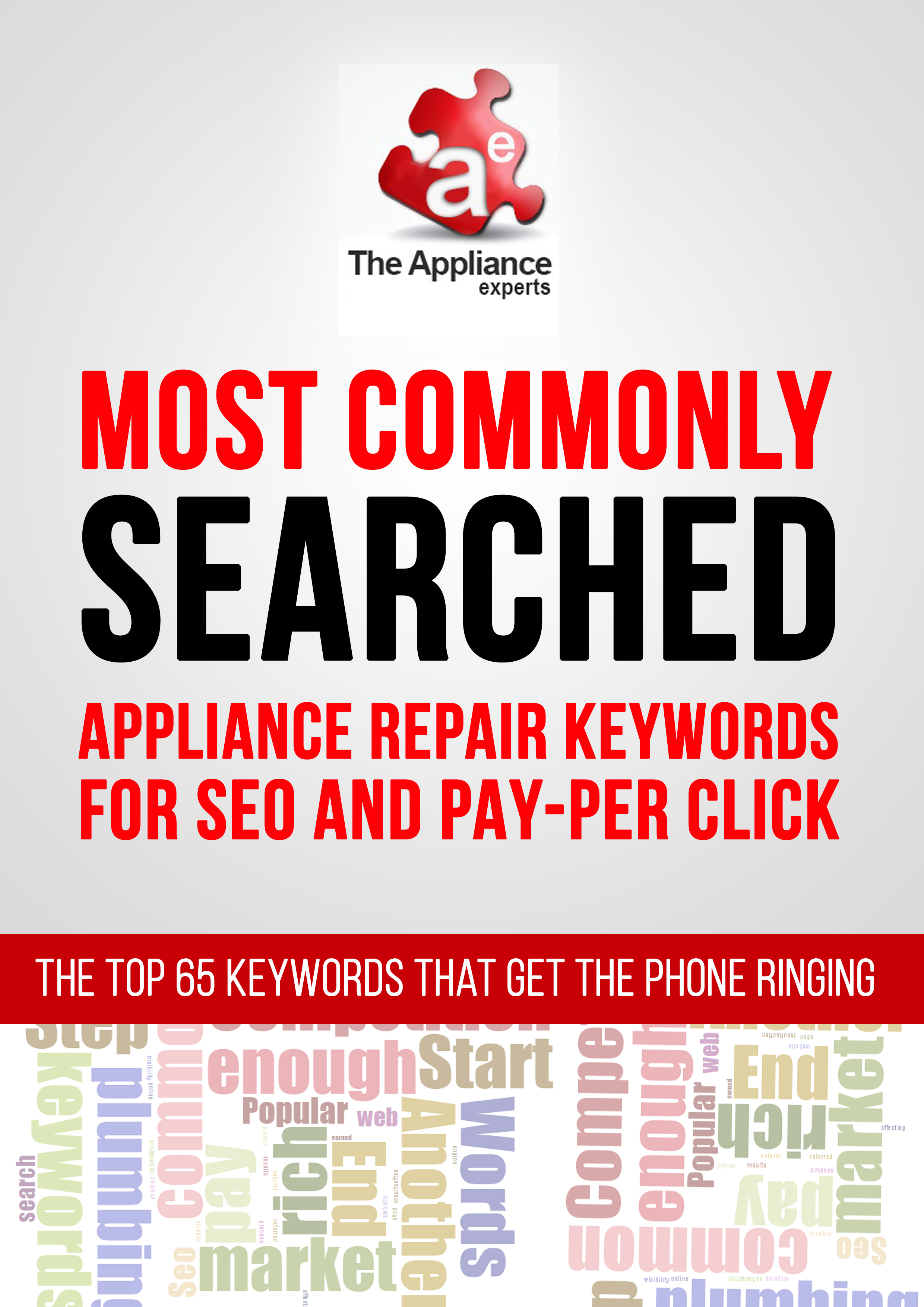 top appliance service keywords for seo
