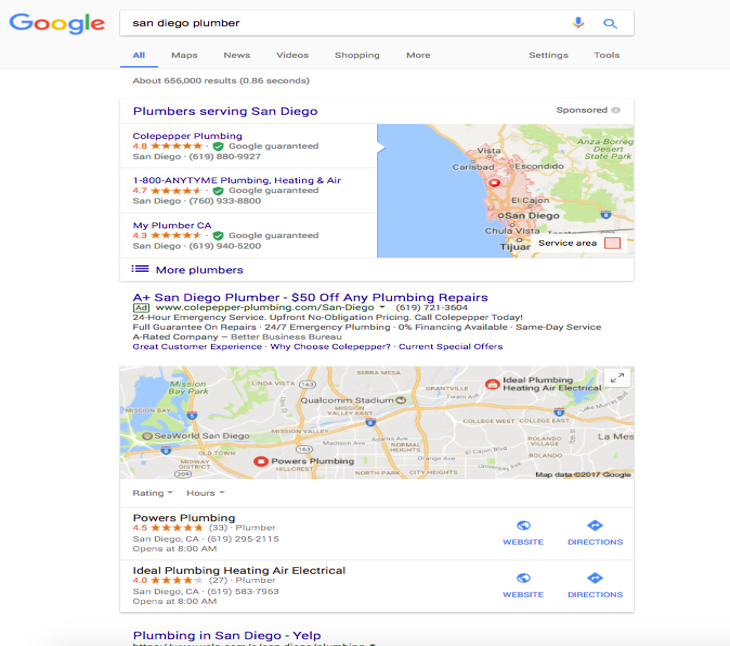 2018 appliance repair seo formula for appliance service businesses pay per click marketing malvernweather Choice Image