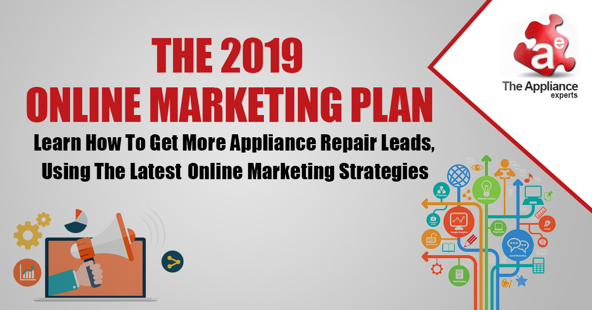 online marketing plan for appliance repair companies