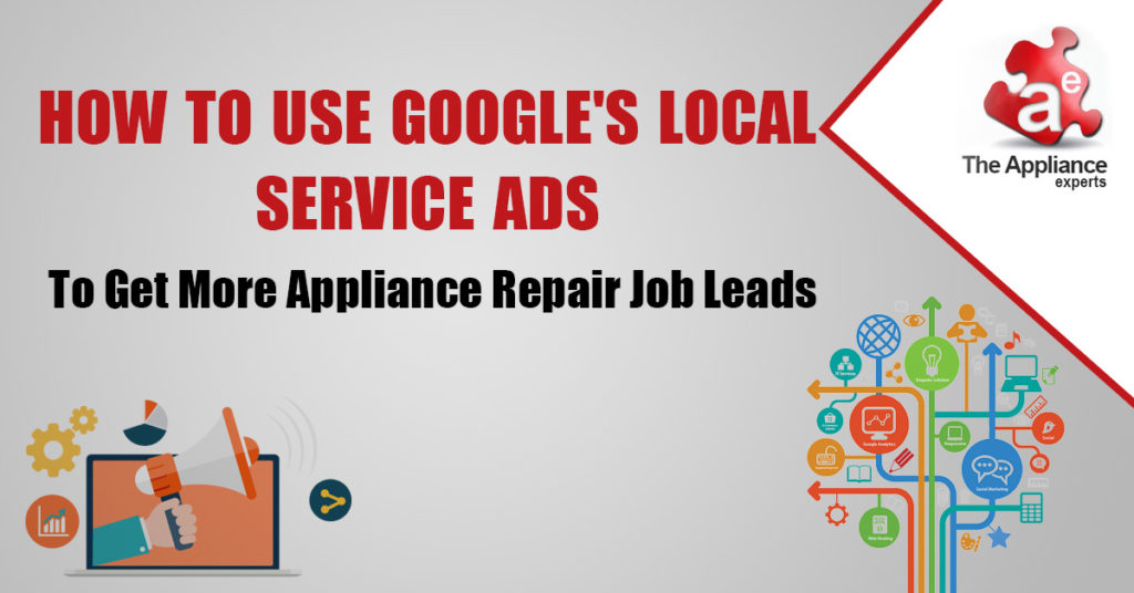 appliance repair job leads from google local service ads