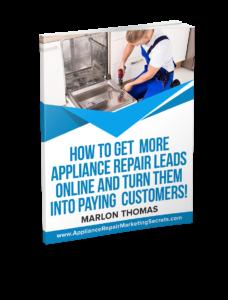 appliance repair marketing book
