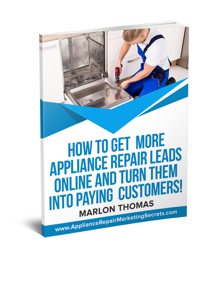 appliance repair marketing book