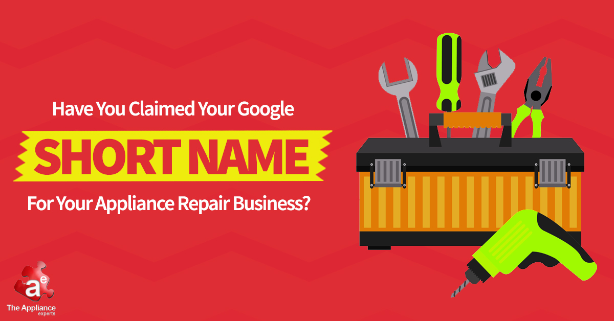 google short name for appliance repair companies